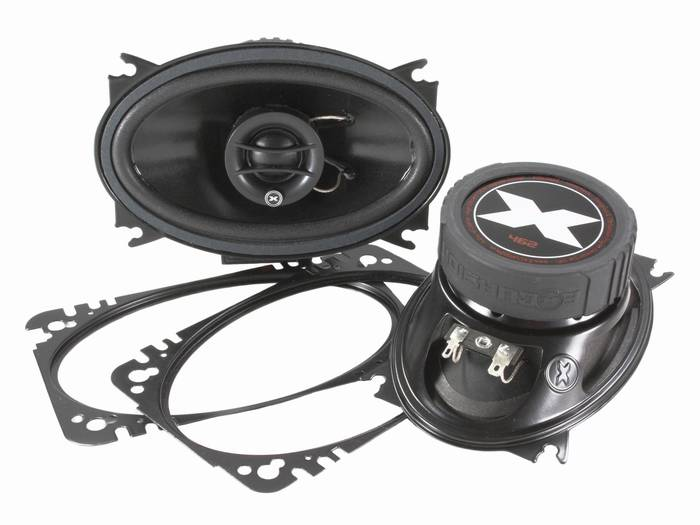 "4x6"" coaxiaal ovaal speaker excursion"