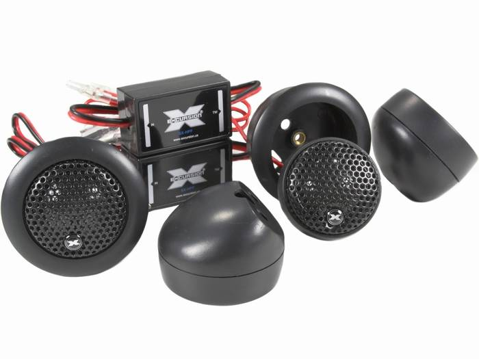 25 mm tweeter excursion