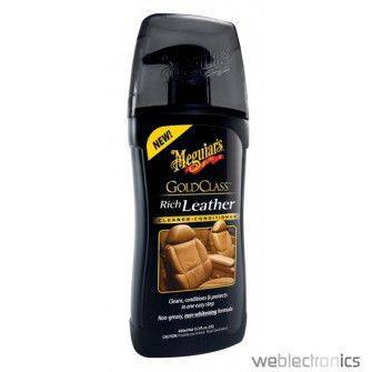 MEGUIARS GOLD CLASS RICH LEATHER CLEANER & CONDITIONER INTERIOR