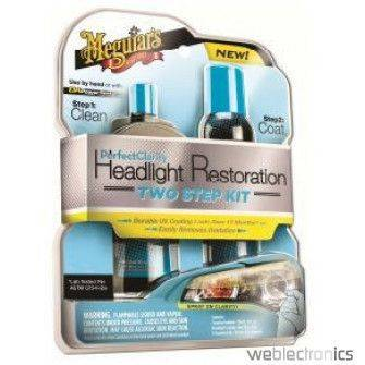 MEGUIARS AO PERFECT CLARITY HEADLIGHT RESTORATION KIT