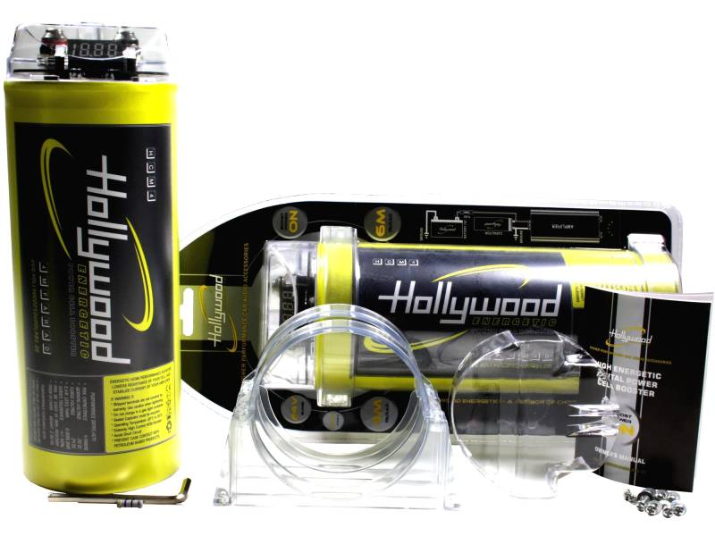 hollywood 4 farad cell booster condensator