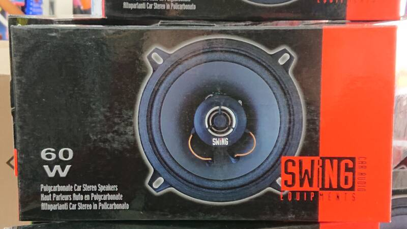 Speakers swing 13 cm extra plat