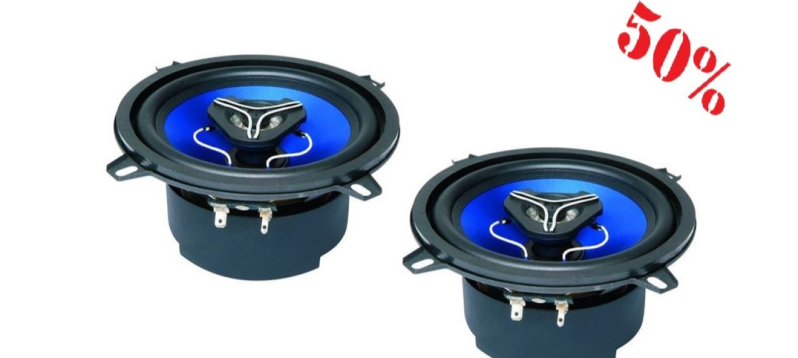 Audio Design pk 130 13 cm coax speaker