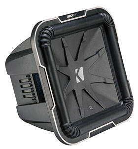 "kicker L712 30 cm (12"") Square-Subwoofer"