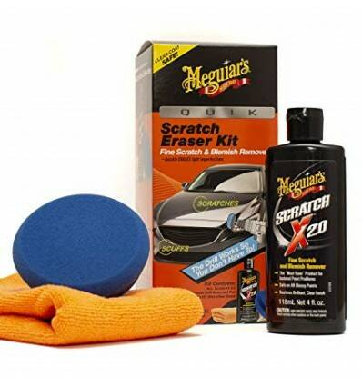 MEGUIARS QUICK SCRATCH ERASER KIT