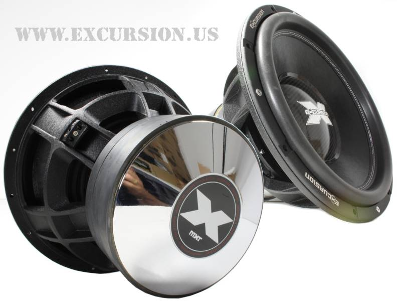 MXT.v2 15d1  15 inch 2500 watt rms dvc 1 ohm subwoofer excursion