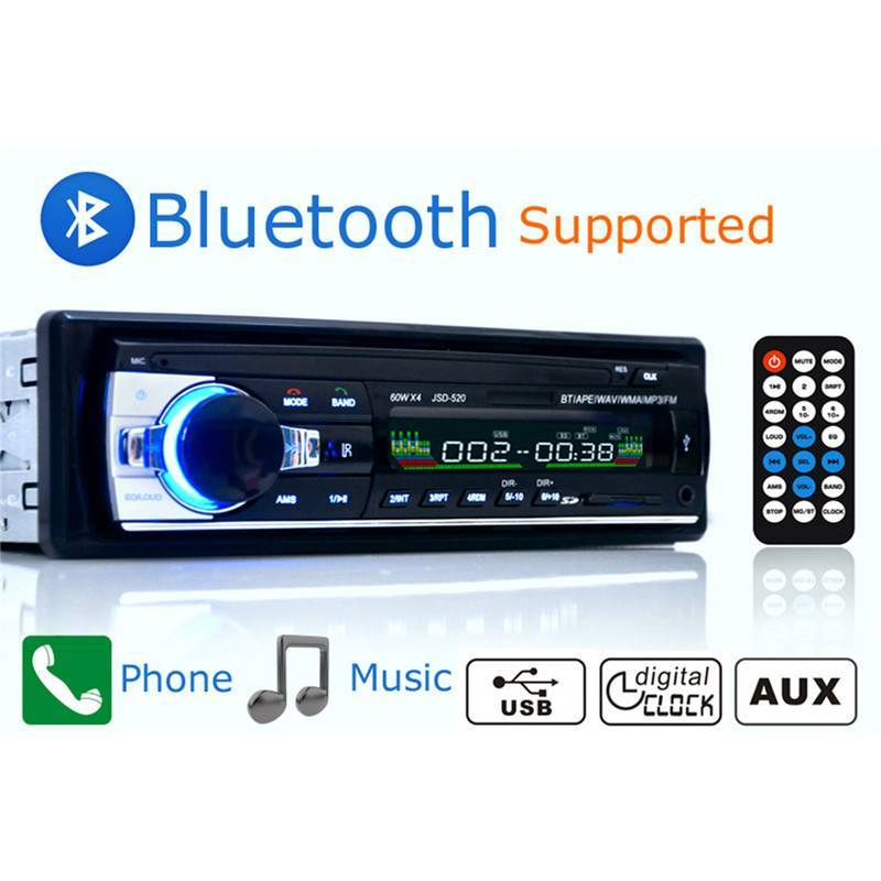Autoradio – Handsfree functie – Bluetooth – Aux in