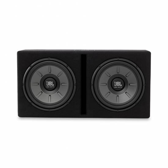"JBL STAGE 1220B Dual 12"" Subwoofer enclosure"