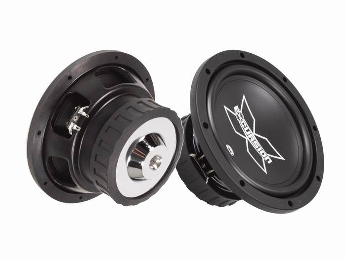 Sx8d4 / s4  8 inch 200 watt rms excursion subwoofer
