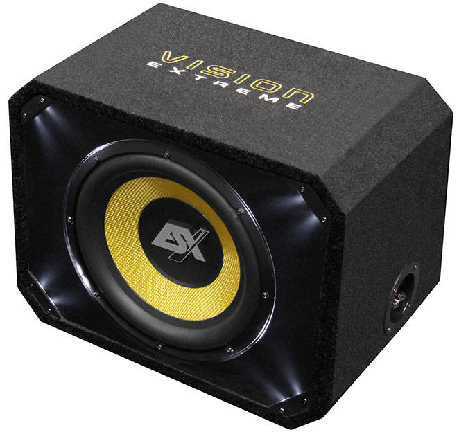 "ESX VE250 25 cm (10 "") basreflexsysteem SUBWOOFER IN KIST"