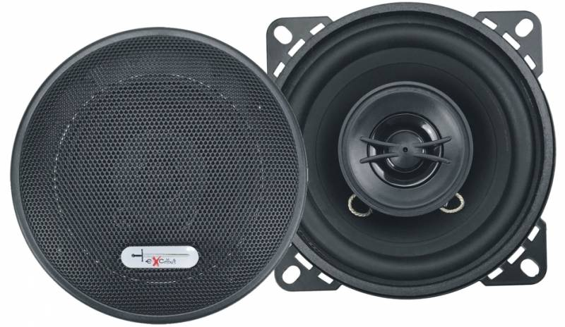 "EXCALIBUR X102 4"" 200 WATTS 2-WAY SPEAKERS"
