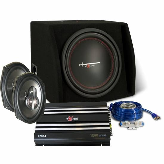 EXCALIBUR X2 trunkpack 1000watt