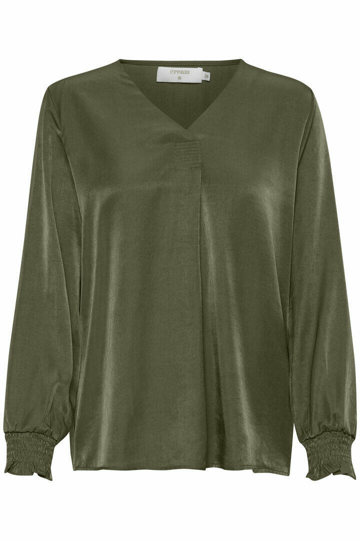 Cream Feng blouse Olive