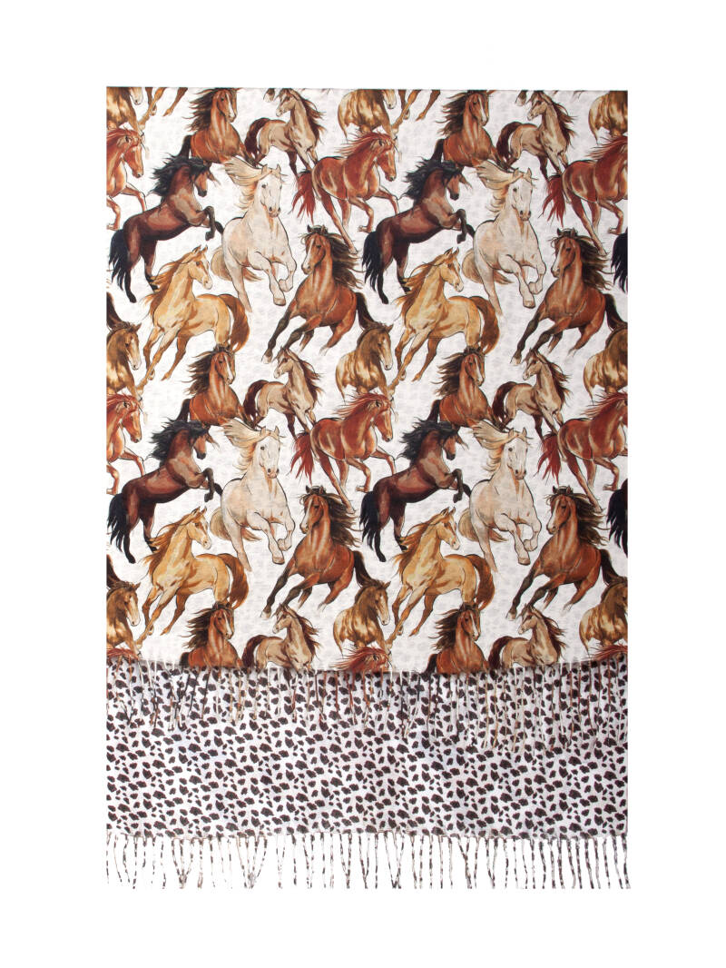 Smashed Lemon sjaal paardenprint