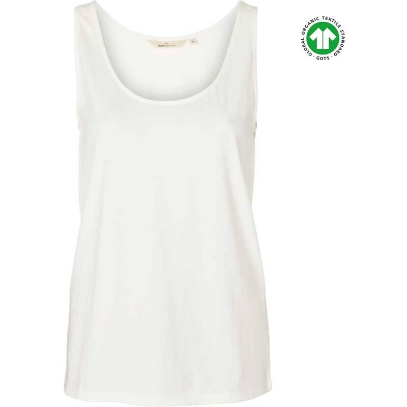 Basic Apparel Rikke tank - organic Gots White