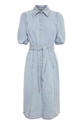 b.young Keyla Dress light blue denim