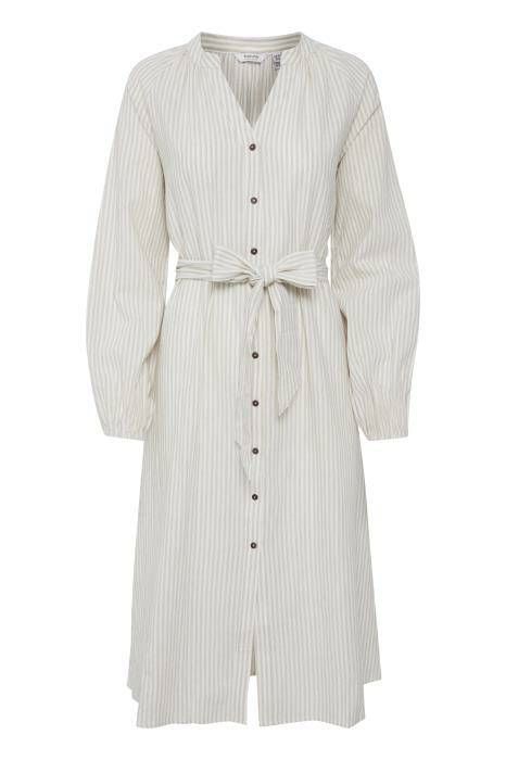 b.young Keyla Dress oyster mix