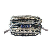 A Beautiful Story Brilliant Lapis Zilver Armband
