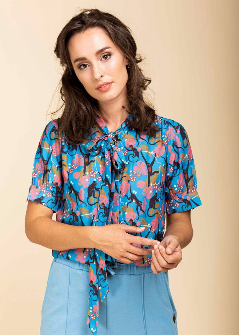 4 Funky flavours blouse Don't Turn Your Back On Me