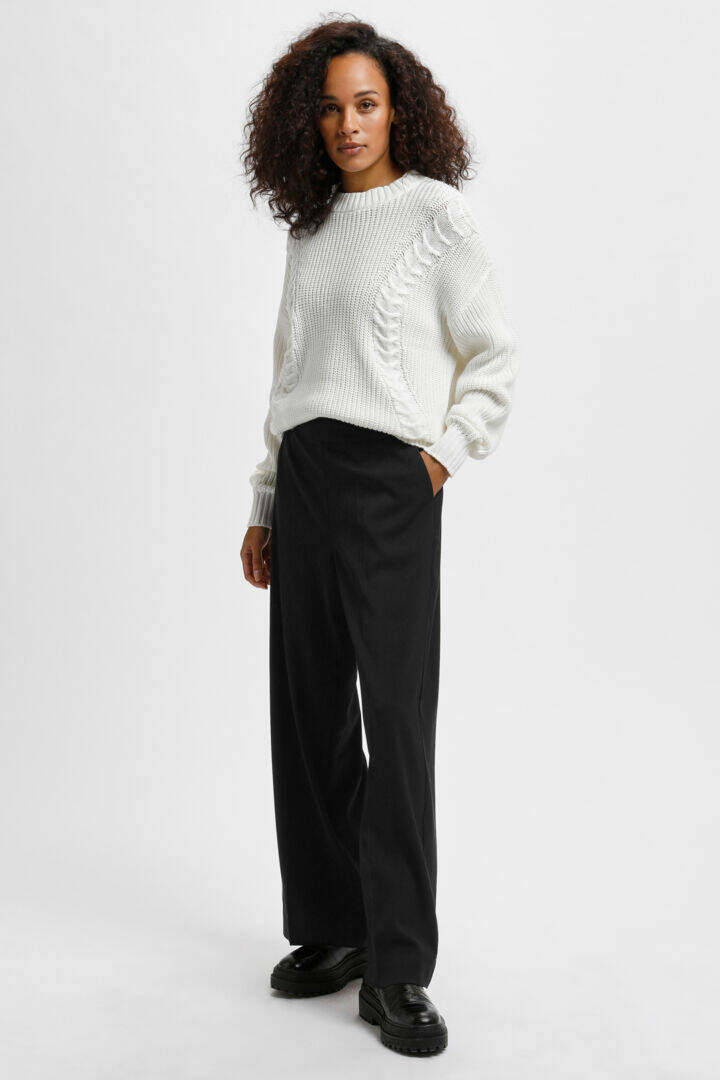 Kaffe Eliama Wide Pants black