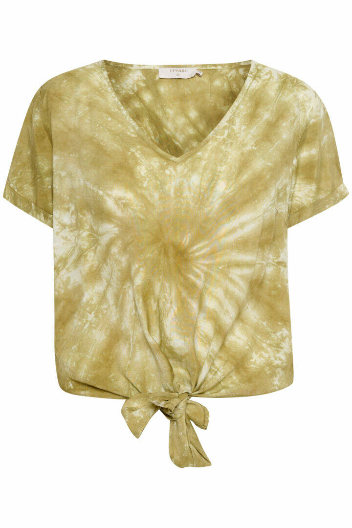 Cream Huvela Blouse Army