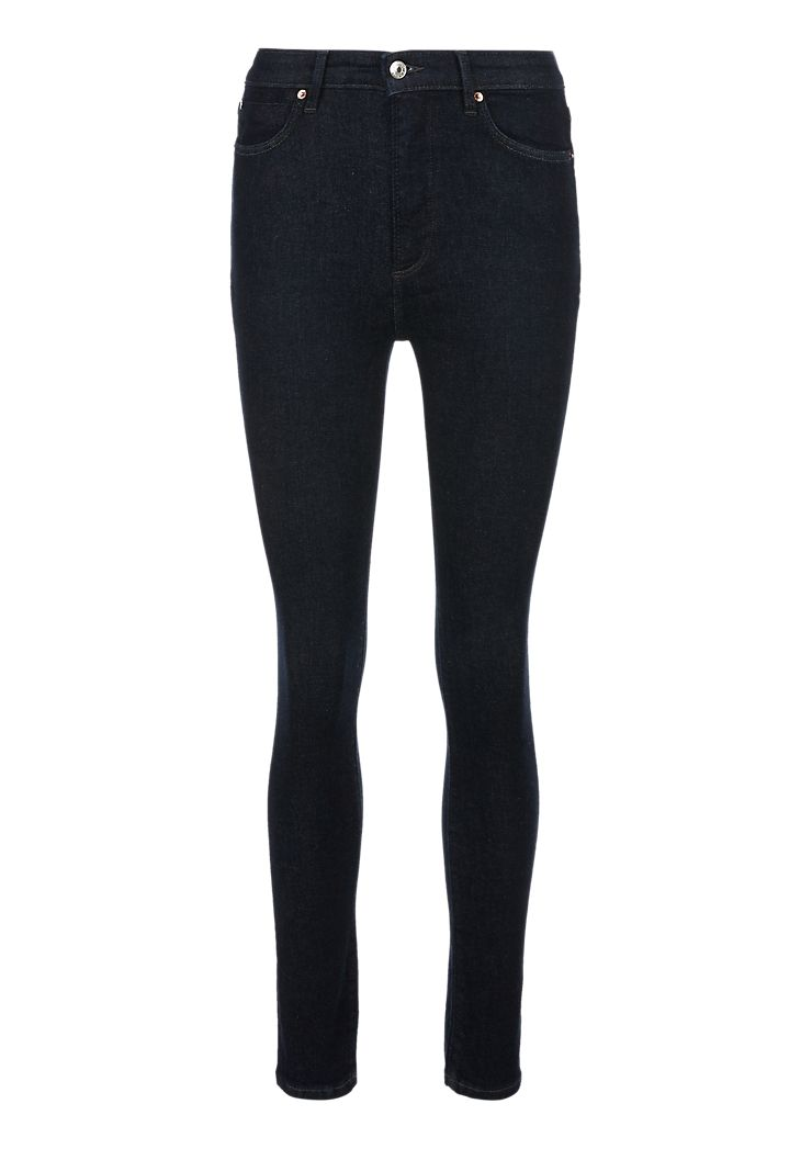 s.Oliver jeans donkerblauw