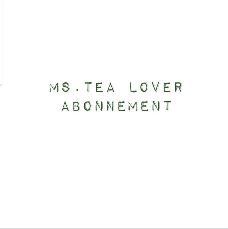 Ms. Tea lover