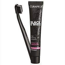 Curaprox tandpasta black is white