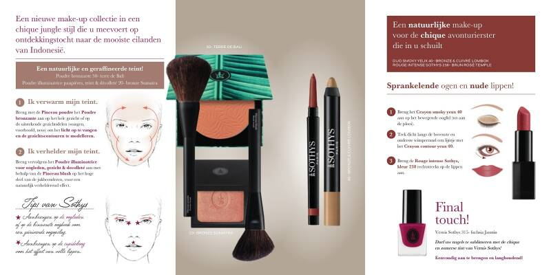 Sothys duo smoky Yeux 40 Bronze & cuivre-Lombok