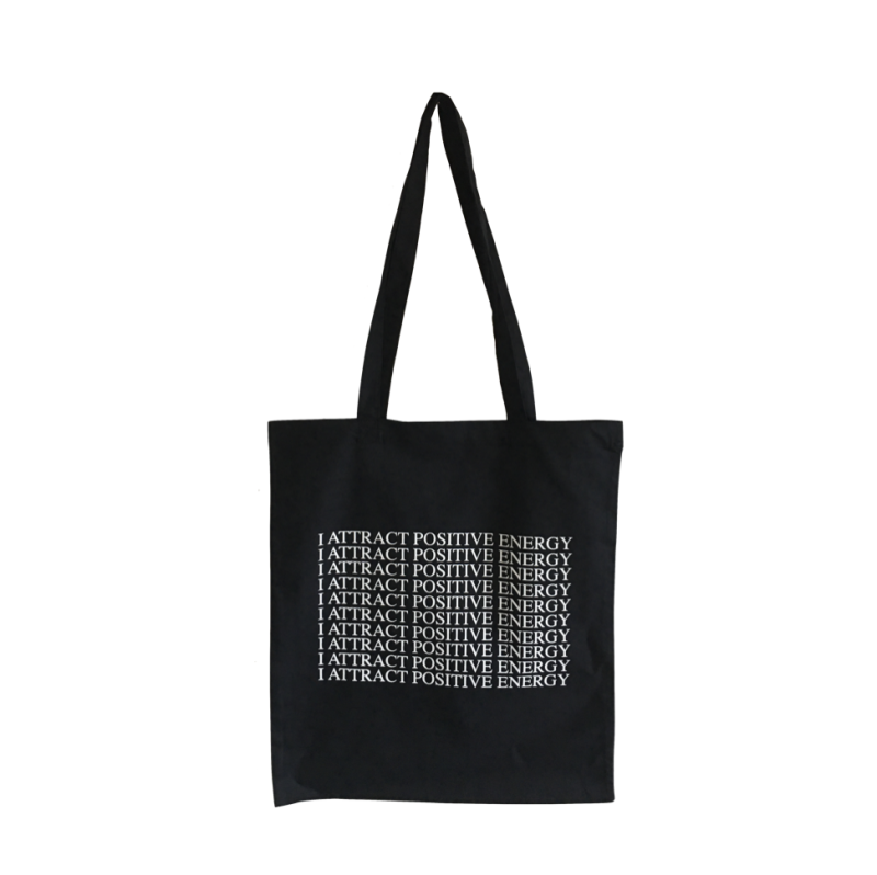 The Positive Energy Magnet Tote Bag