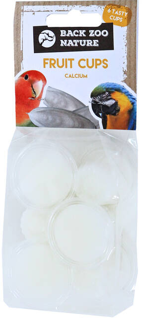 Back Zoo Nature Fruit Cups Calcium