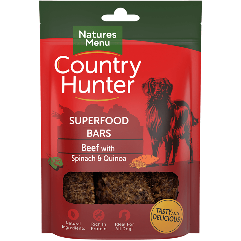 Country Hunter Superfood Bars Beef 100 gram