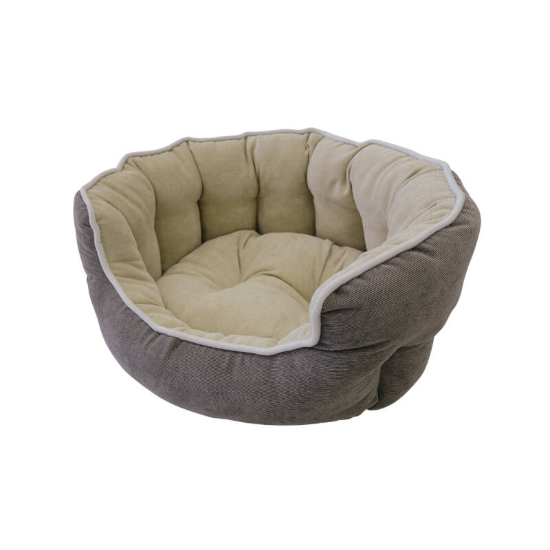 Nobby Comfortbed Taro Taupe/Beige