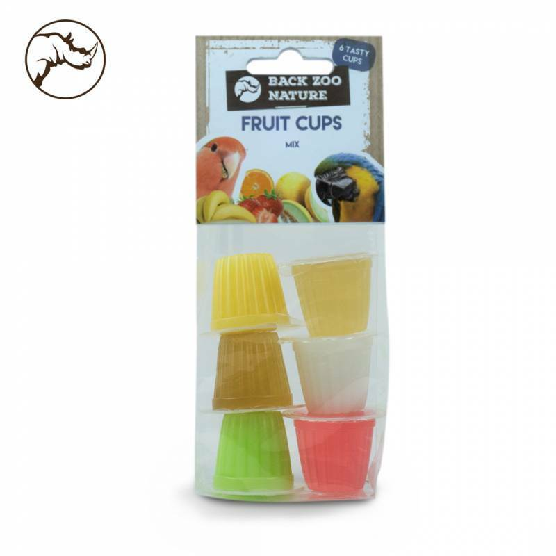 Back Zoo Nature Fruit Cups Mix