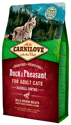 Carnilove Adult Duck & Pheasant Hairball