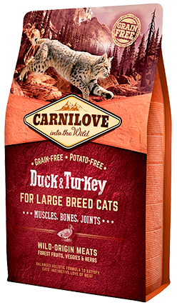 Carnilove Adult Large Duck & Turkey