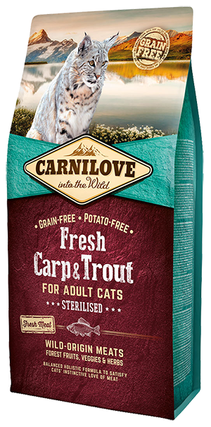 Carnilove Fresh Adult Carp & Trout Sterilised