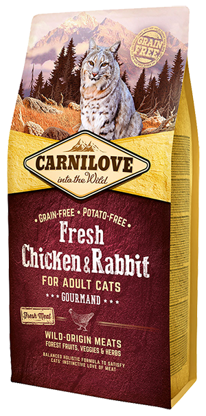 Carnilove Adult Fresh Chicken & Rabbit Gulzigheid