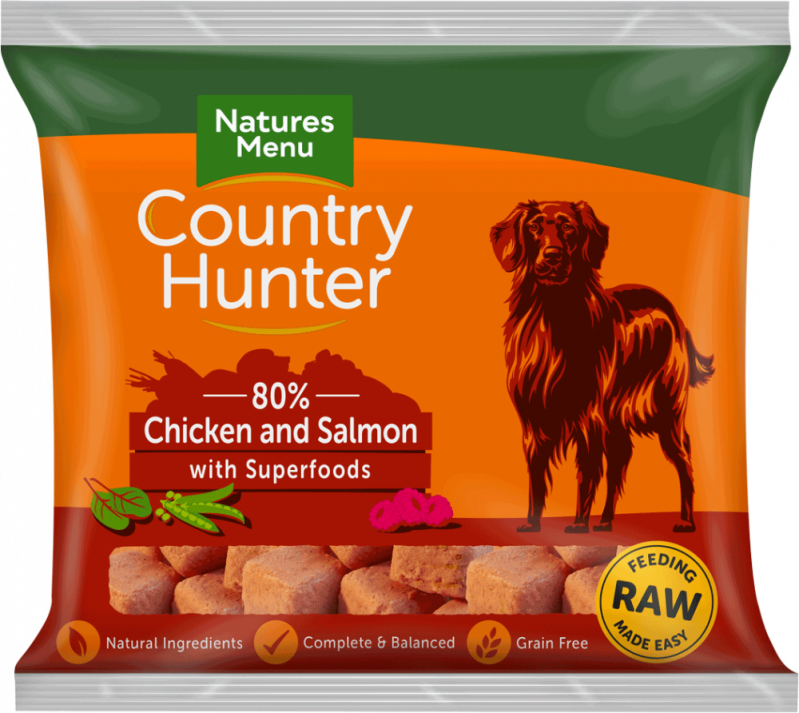 Natures Menu Country Hunter Chicken & Salmon Nuggets 1 KG