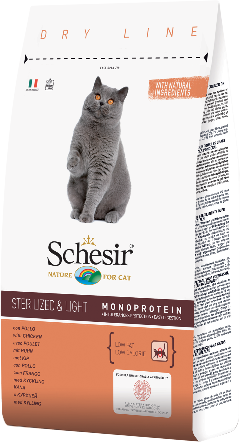 Schesir Adult Sterilised & Light Kip