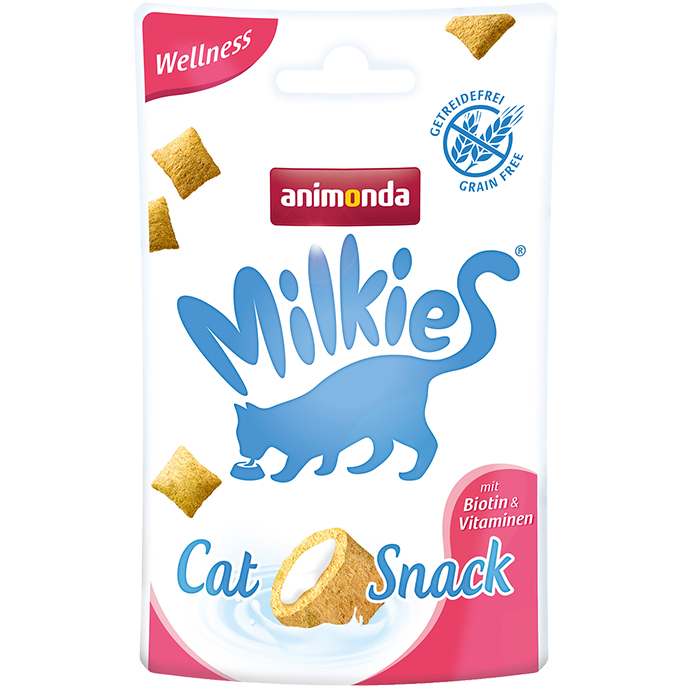 Animonda Milkies Wellness met Biotine en Vitamine 30 gram