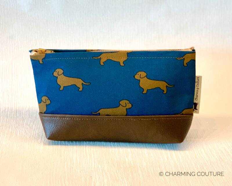 Toiletry Bag - Wire haired dachshunds