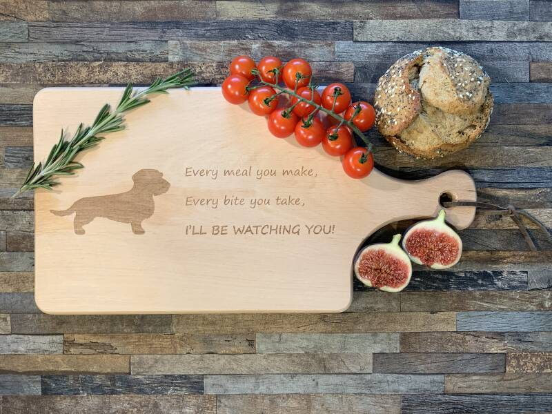 Serving Board Wire-haired Dachshund