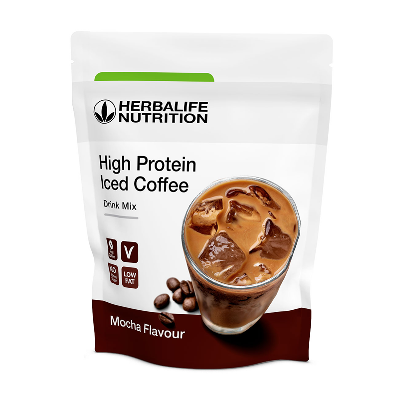 011K High Protein Iced Coffee Mokka 322 g  NIEUW