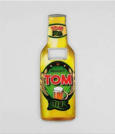 Tom - bieropener magneet
