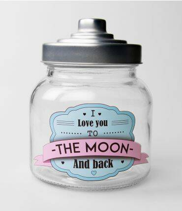 I love you to the moon and back - snoeppot