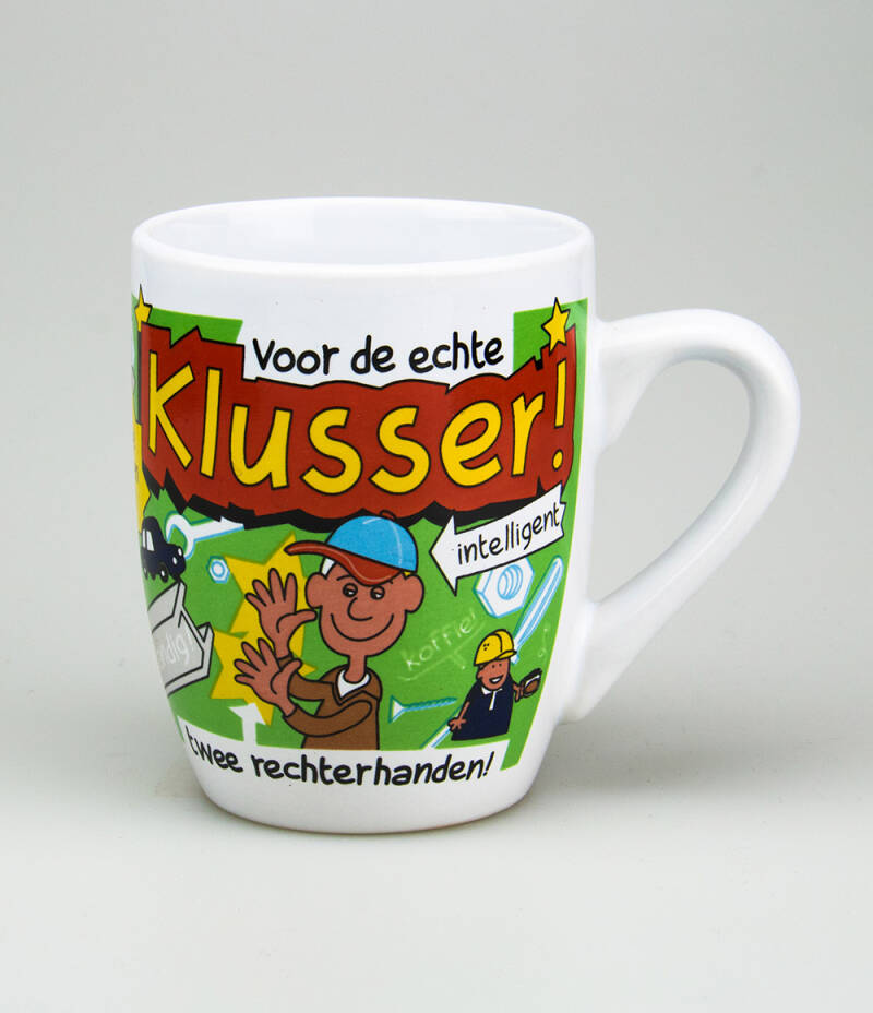 Klusser - cartoonmok