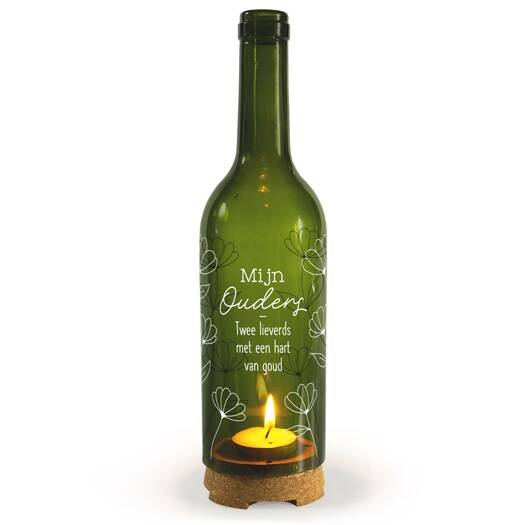 Ouders - wine candle