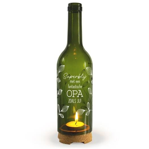 Opa - wine candle