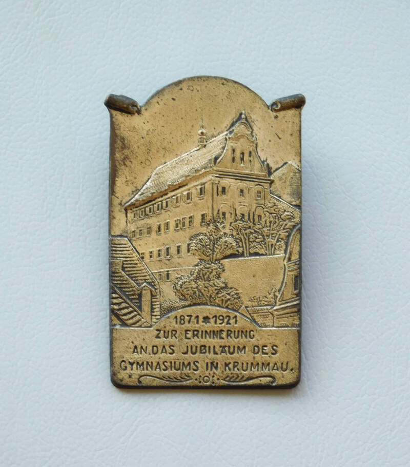 Anniversary Badge - Gymnasiums in Krummau